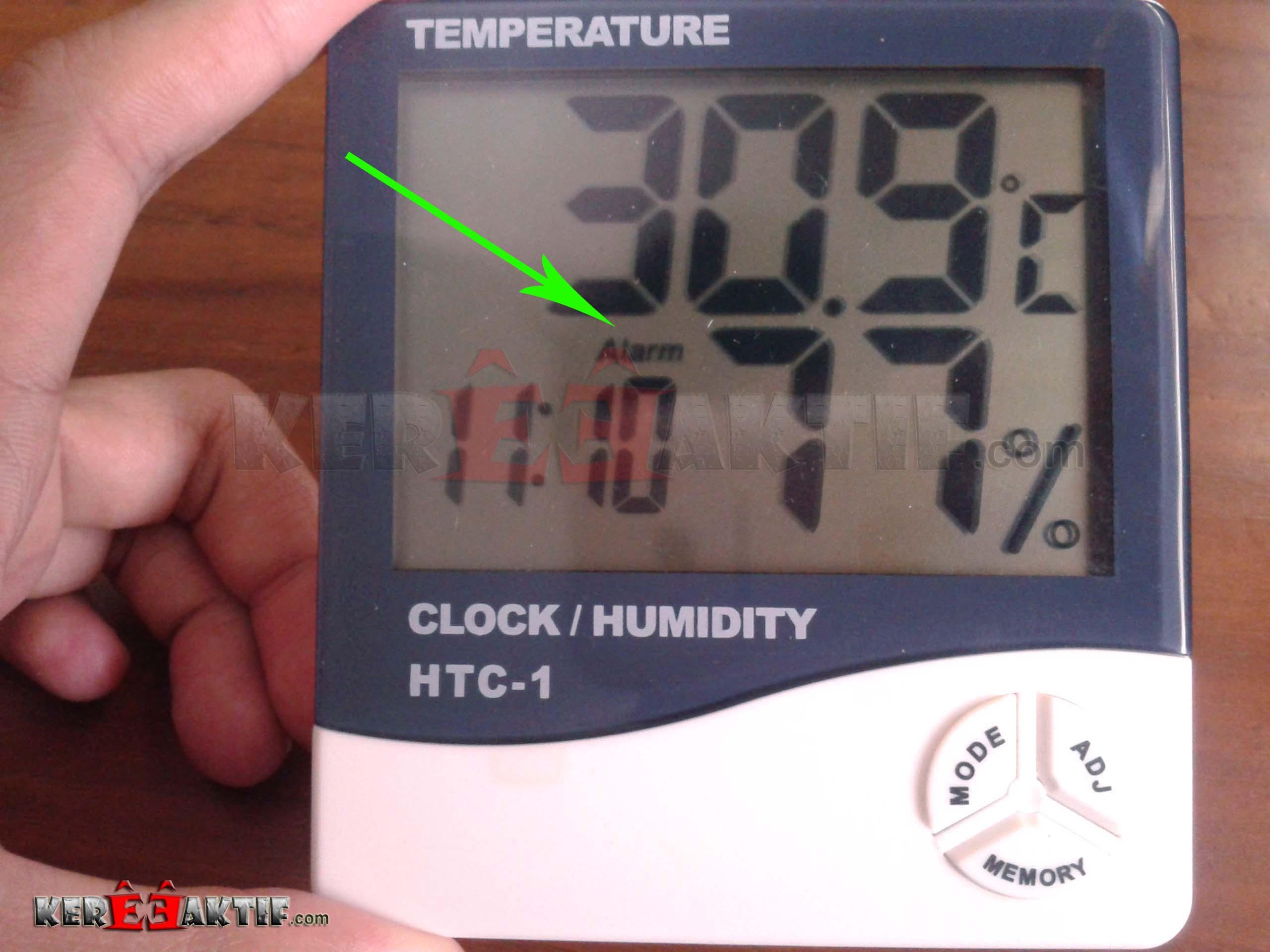 Review Harga Dan Cara Pakai Temperature Humidity Meter Htc 1 Thermohygrometer Thermometer Hygrometer Ruangan Digital Lcd Catatan Alarm Akan Berbunyi Setiap Hari Sesuai Dengan Waktu Jam Menit Yang Telah Kita Tentukan Selama Setelah Itu Maka